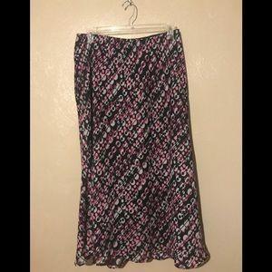 Lane Bryant long skirt size 14/16.  Elastic waist
